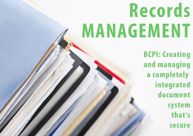 Records Management With Bcpi